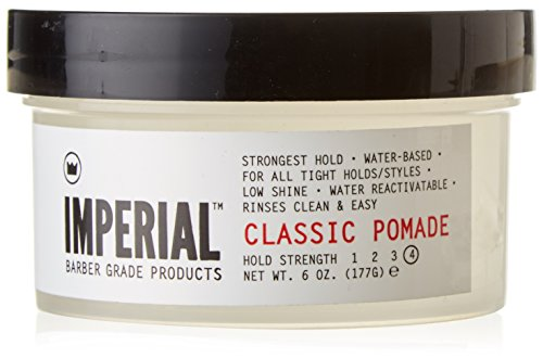 Imperial Classic Pomade. Water-based pomade for guys. Great 21st birthday gift for boyfriend.