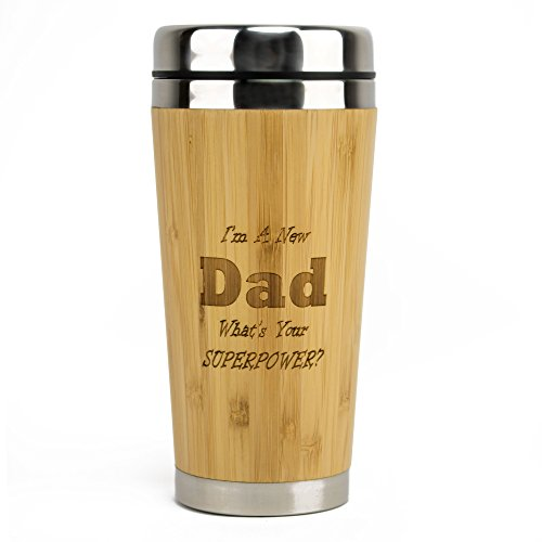 New Dad SuperPower Travel Mug