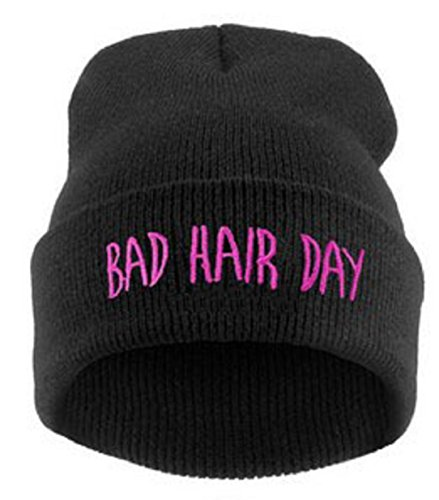 Humorous Bad Hair Day Beanie