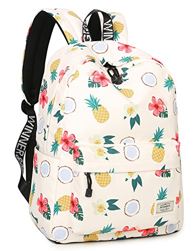 gifts for tween girls Cute Floral and Fruit School Bag for Tweens and Teens