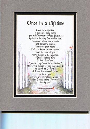 Sentimental Poem for Boyfriend or Husband. Perfect birthday or anniversary gift for men.