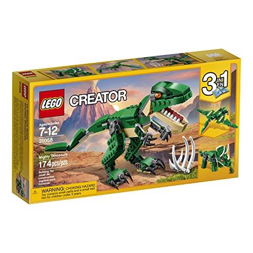 lego creator mighty dinosaurs 31058 building kit