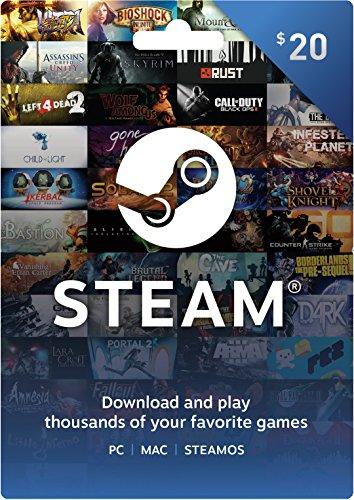 steam instant credit gamer gift