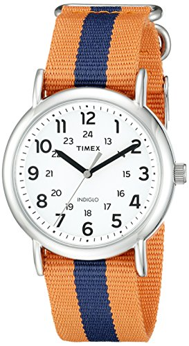 Timex Weekender watch guys. Canvas wristband. A stunning watch that is affordable. Great 21st birthday gift for boyfriend.