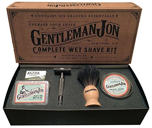 Gentleman Jon Shave Kit. Perfect 21st Birthday Gift for Boyfriend.