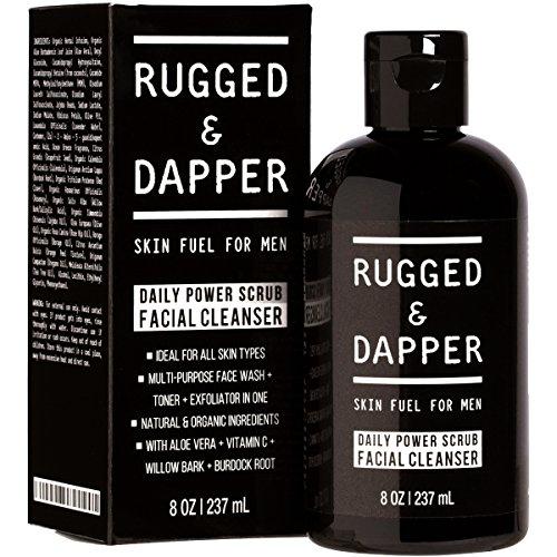 Rugged & Dapper Facial Cleanser for Men. . 21st Boyfriend Birthday Gift Idea.