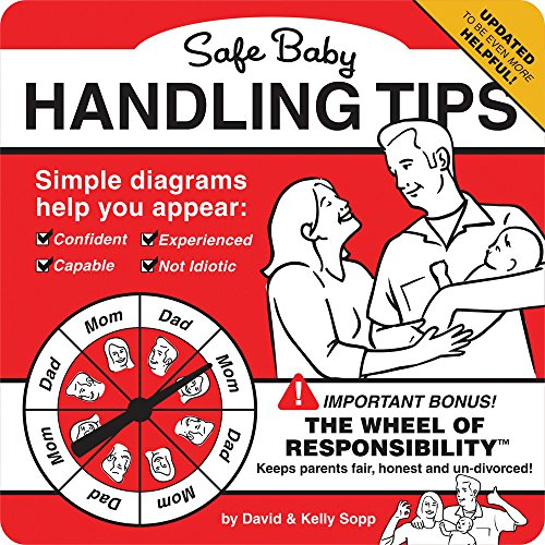 Humorous New Dad Book with Helpful Tips. Great Gift for New Dads!