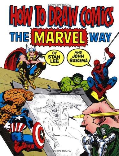 marvel: how to draw comics
