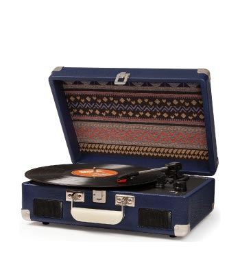 Unique Father's Day Gift from Adult Daughter. Crosley Cruiser II Portable Vinyl Player