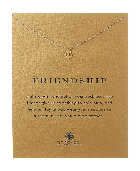 Friendship Pendant Necklace Sentimental Friend Gift | Happy Best Friend Day! Best Friendship Gift Ideas