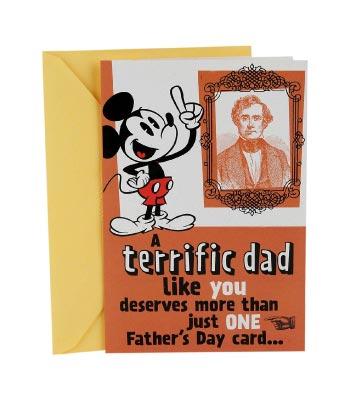Hallmark Mickey Funny Greeting Card