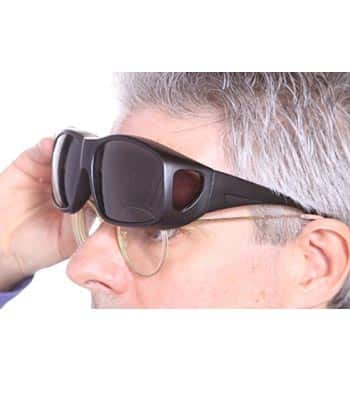 LensCovers Wear-Over Sunglasses