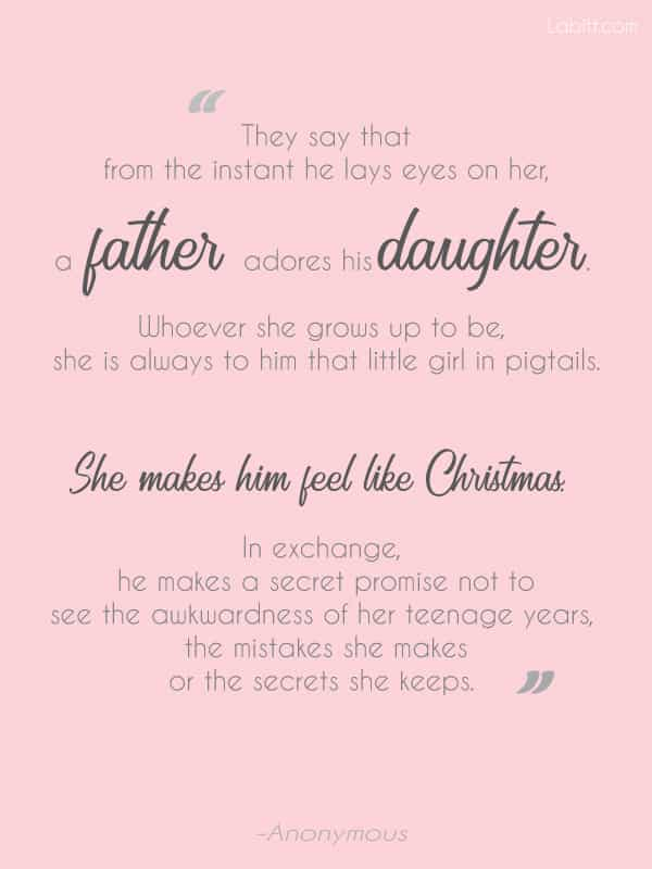 Father Daughter Quote