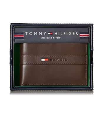 Tommy Hilfiger Men's Ranger Leather Wallet