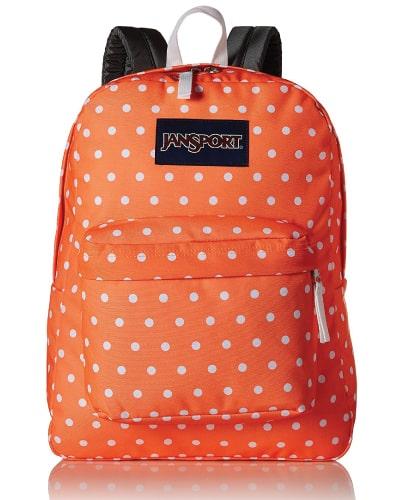 JanSport Superbreak Tahitian Orange Backpack