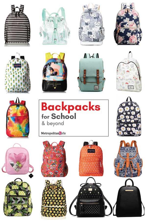 cute school backpacks