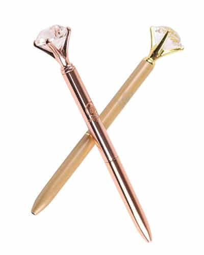 Diamond Pen - Receptionist Day gift ideas from boss | gift for staff