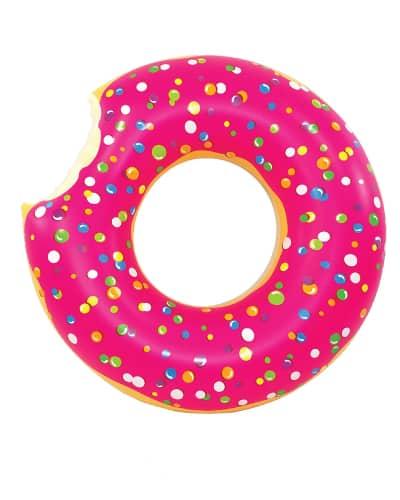 Jumbo Pink Donut Pool Float