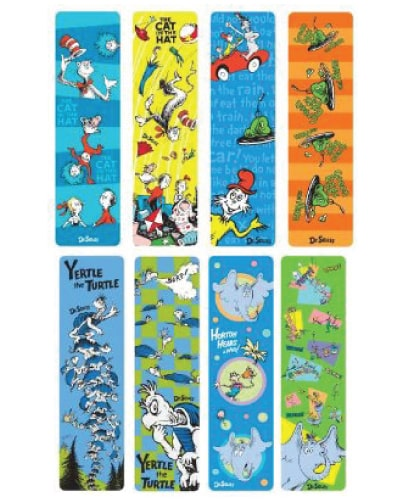 Dr Seuss Bookmarks | Student Gifts from Teacher