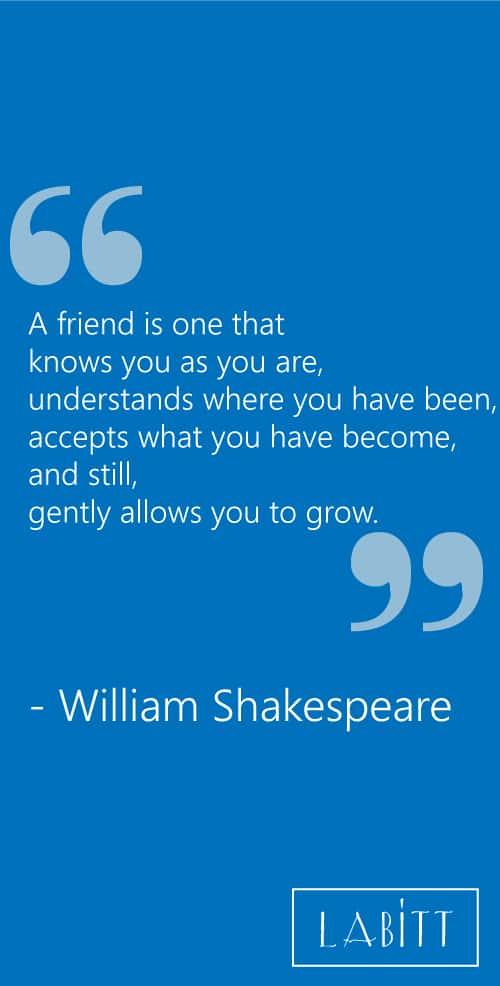 Friendship Quote by William Shakespere