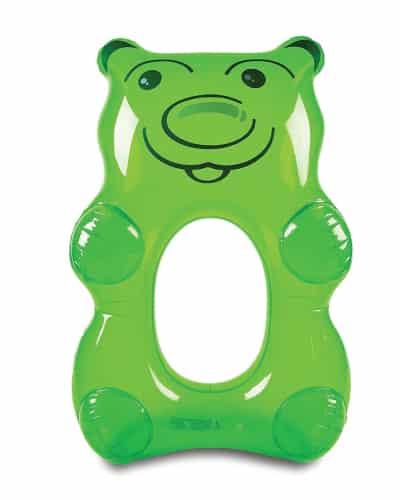 Green Gummy Bear Pool Float