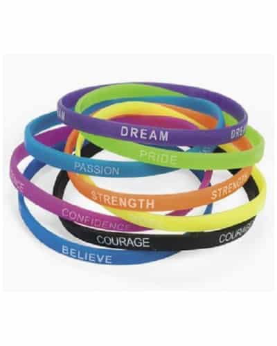 Inspirational Sayings Bracelets | End of Year Student Gifts