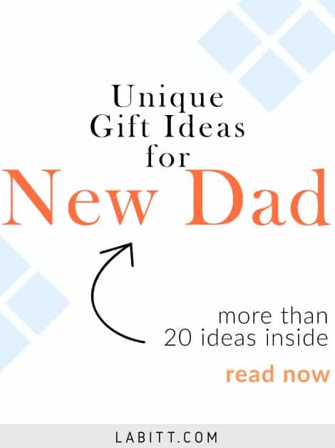 Gift Ideas for New Dad. First time father celebration idea. Gifts to celebrate fatherhood.