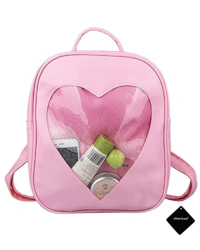 Candy Pink Heart Bag