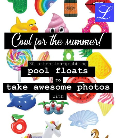 Cool summer pool floats for adults and teens. Unique floats: unicorn, swan, whale, and other special pool floats!