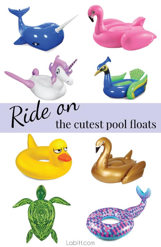 Giant Inflatable Pool Floats to Ride On