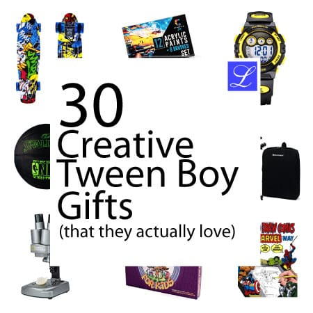 gift ideas for teen and tween boys
