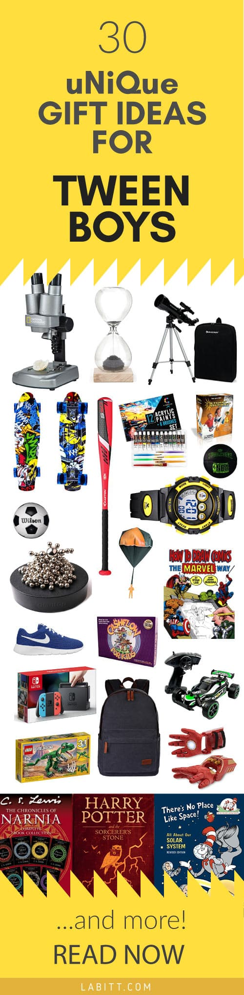 What do you think of these Gift Ideas for Tween Boys?