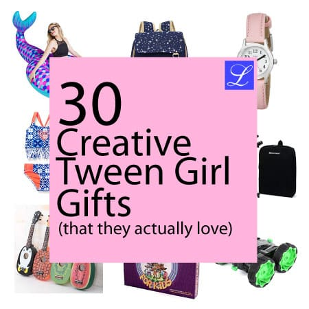 Gift Ideas for Tween Girls. Gifts for Girls Aged 8-14. Birthday, Christmas ideas for young ladies.
