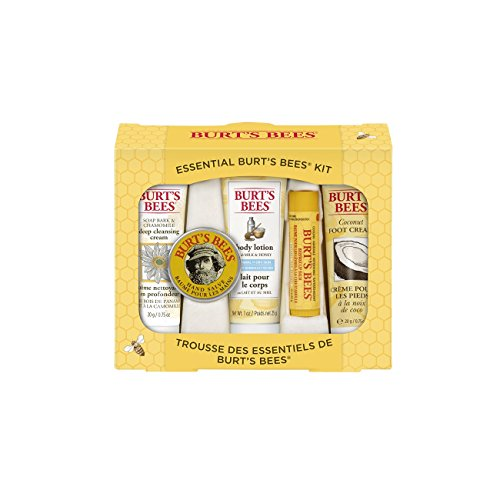 Essential Burt's Bees Kit. 15 Year Wedding Anniversary Gift Ideas for Her, for Wife. Women Gifts.