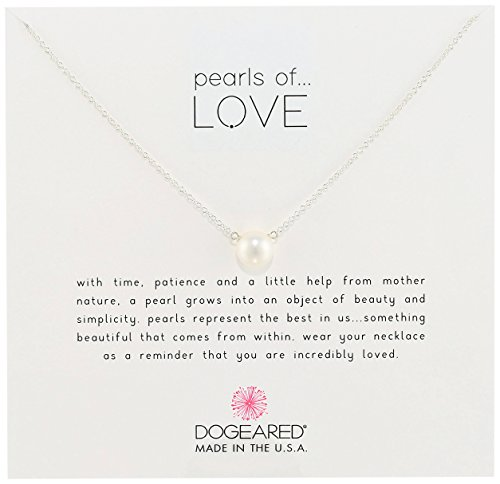 "Dogeared ""Pearls of Love"" Pendant Necklace. 21st birthday gifts for girlfriend ideas"