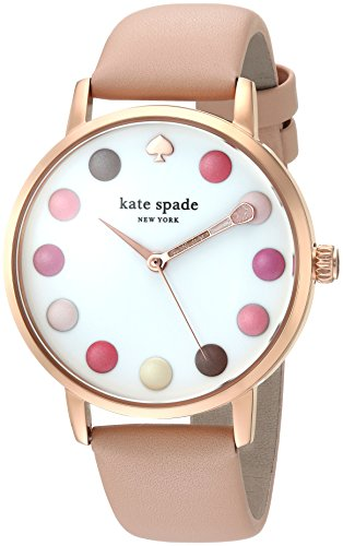 Kate Spade New York Women's 'Metro' Watch. Pink, rose gold. 21st birthday gifts for girlfriend.