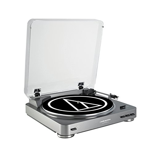 Audio Technica AT-LP60 Fully Automatic Stereo Turntable System. 15 Year Wedding Anniversary Gift Ideas for Husband and Wife. Gifts for Him and for Her.