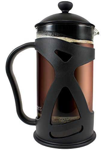 KONA French Press Coffee Maker. 15th Wedding Anniversary Gift Ideas for Husband and Wife. Gifts for Him and for Her.