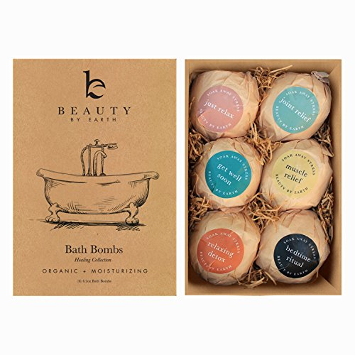Bath Bomb Gift Set. 15th Wedding Anniversary Gift Ideas for Her, for Wife.