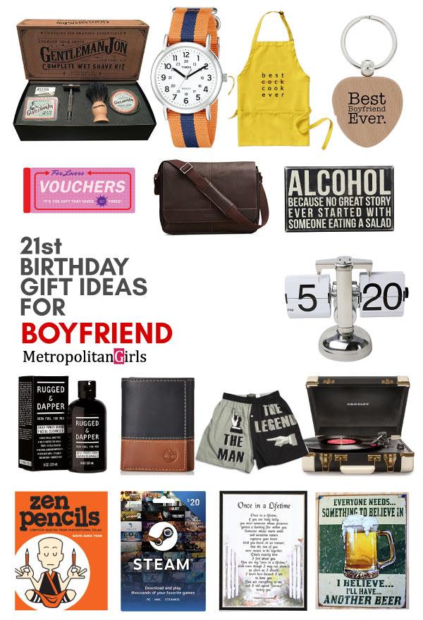 20 unique gifts for boyfriend's birthday