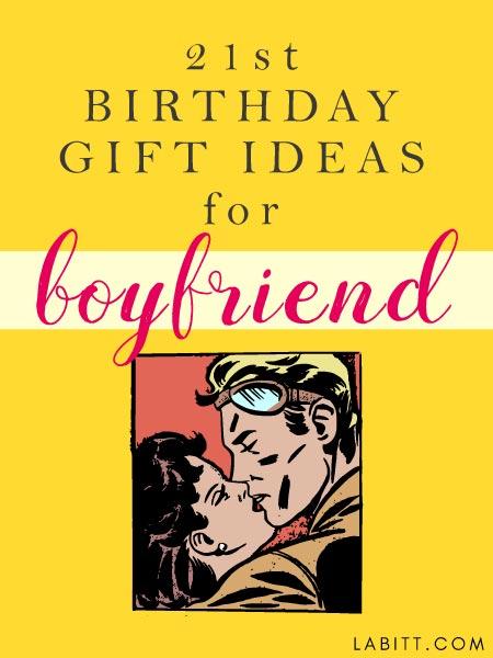 Unique 21st Birthday Gift Ideas for Boyfriend