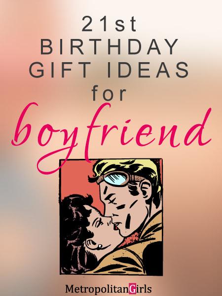 21st birthday boyfriend gift