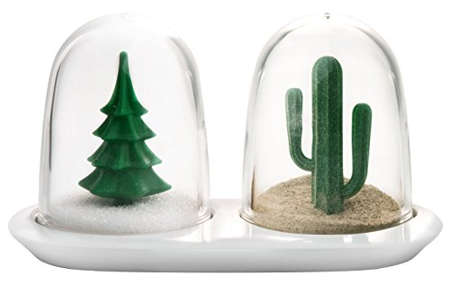 Winter & Summer Salt & Pepper Shaker Set