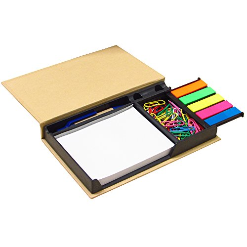 Notes Organizer With Paper Clips And Pen
