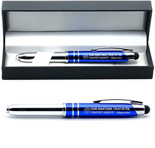 Pen with Hippocrates Quote - Doctor Gift