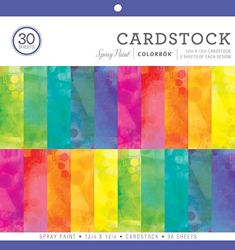 ColorBok Spray Paint Cardstock Paper Pad