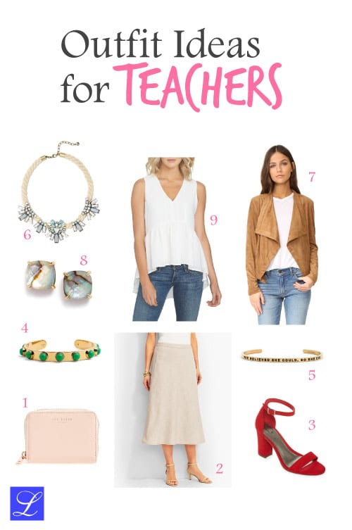 Outfit #3. Cool school outfit ideas for teachers