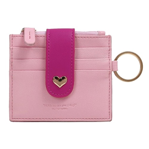 Whats in my bag? Heart Leather Card Wallet