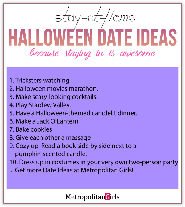 at home halloween couple date ideas