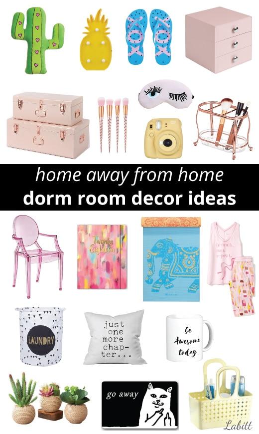 College Dorm Decor Ideas for Girls